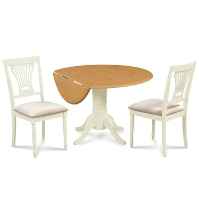 Chesterton 3 Piece Dining Set Finish: Oak