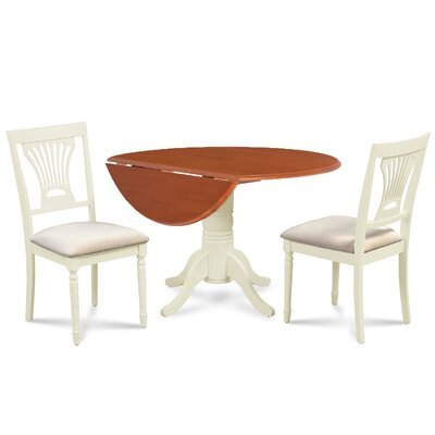 Chesterton 3 Piece Dining Set Finish: Cherry