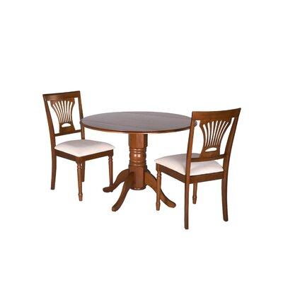 Hillcrest 3 Piece Drop Leaf Dining Set
