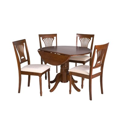 Hillcrest 5 Piece Drop Leaf Dining Set