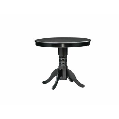 Cedarville Dining Table Color: Black