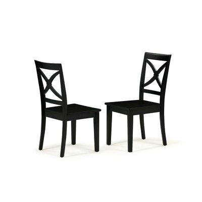 Chesterton 5 Piece Drop Leaf Dining Set Color: Black