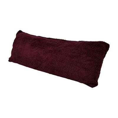 Ultra-soft Sherpa/Microplush Pillow Insert Color: Burgundy