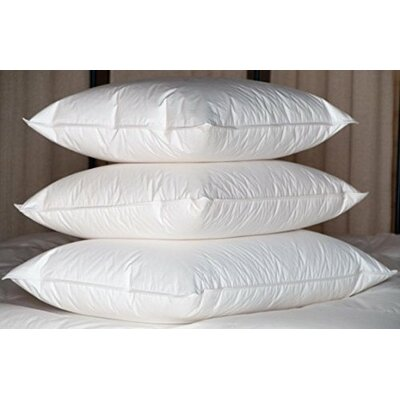 Goose Feather and Goose Down Pillow Size: King