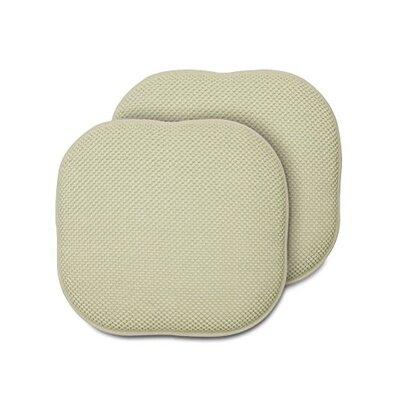 Memory Foam Chair Pad Fabric: Linen