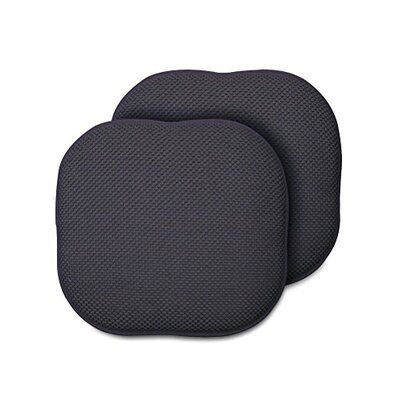 Memory Foam Chair Pad Fabric: Gray