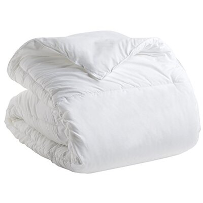 Goose Double Fill All Season Down Alternative Comforter Size: Twin
