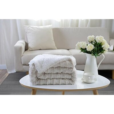 Jane Sherpa/Microplush Throw
