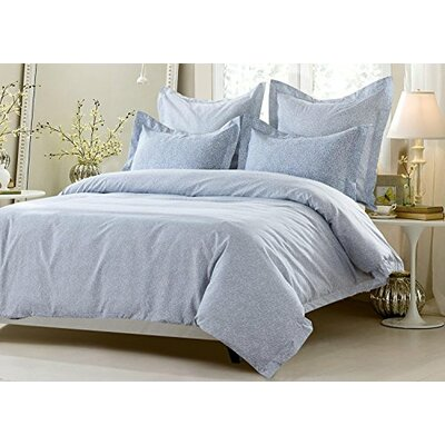 Carline Elegant Design Reversible Duvet Cover Set Size: King/California King