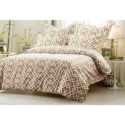 Graham Reversible Duvet Cover Set Size: King/California King