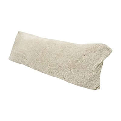 Ultra-soft Sherpa/Microplush Pillow Insert Color: Ivory