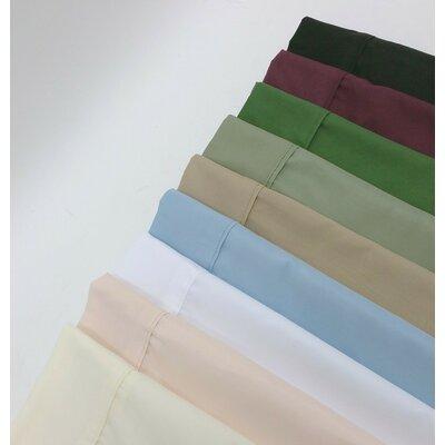 Solid Sheet Set Color: Ivory, Size: Twin XL