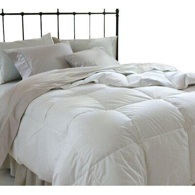 Microfiber Shell Reversible All Season Down Alternative Comforter Size: Twin