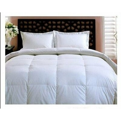 Overfilled Oversized All Season Down Alternative Comforter Size: King/California King
