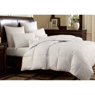 Microfiber Shell All Season Down Alternative Comforter Size: King