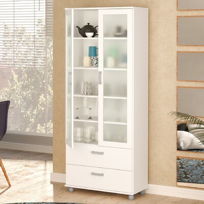 Sybil China Cabinet Finish: White