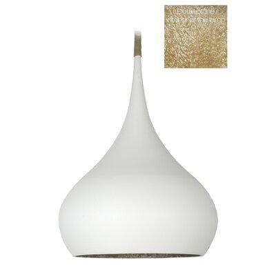 Yajaira 1-Light Inverted Pendant Size: 40 H x 28 W x 28 D