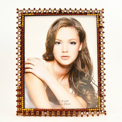 Billingsley Gorgeous Picture Frame Color: Brown