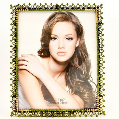 Billingsley Gorgeous Picture Frame Color: Green