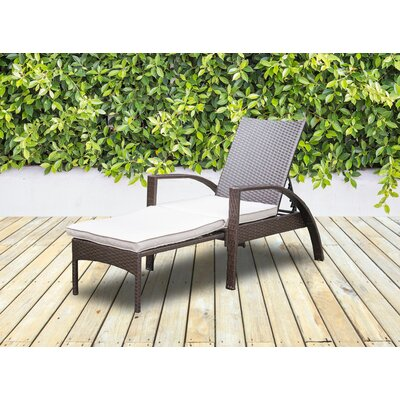 Lucero Chaise Lounge with Cushion