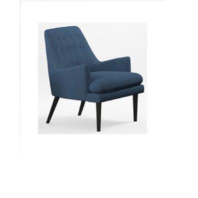 Appaloosa Mid Century Accent Armchair Upholstery: Navy Blue