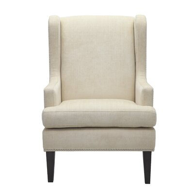 Apple Valley Wingback Chair Upholstery: Beige