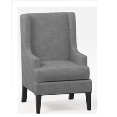 Apple Valley Wingback Chair Upholstery: Gray
