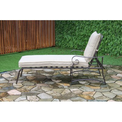 Tony Outdoor Garden Chaise Lounge