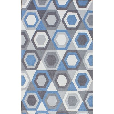 Zubair Reversible Gray Outdoor Area Rug Rug Size: 5 x 8