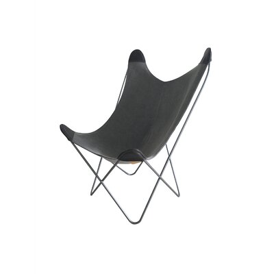 Kravitz Butterfly Lounge Chair Finish: Dark Gray