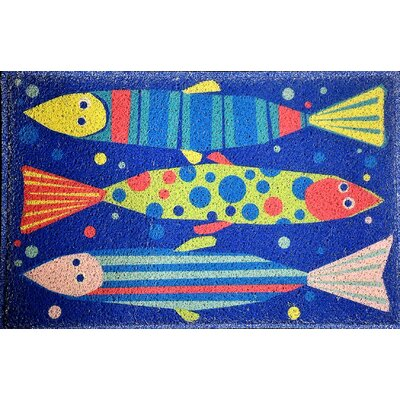 Hopewell Tropical Fish Doormat