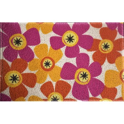 Amico Fun Flowers Doormat