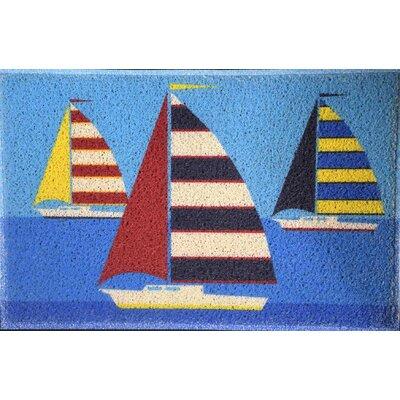 Hornellsville Sailboats Doormat
