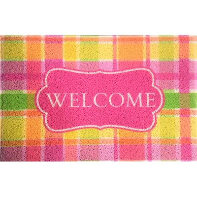 Amin Welcome Indoor/Outdoor Doormat