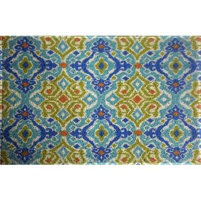 Amezcua Rectangle Ikat Doormat