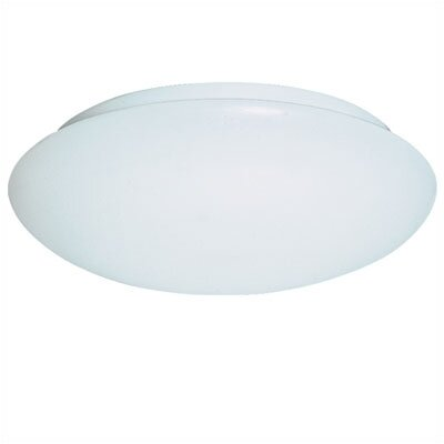 Replacement Glass for Fluorescent White Flush Mount
