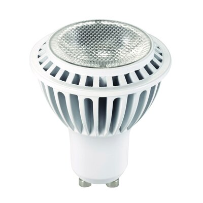 Frosted GU10/Bi-pin LED Light Bulb Wattage: 7W