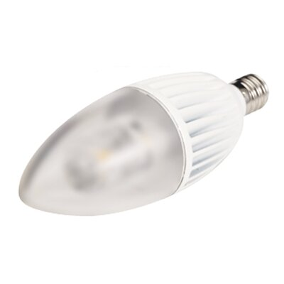 4.5W Frosted 120-Volt (2700K) LED Light Bulb