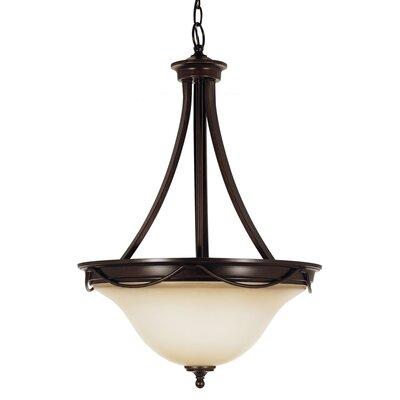 Jacobus 3-Light Bowl Pendant