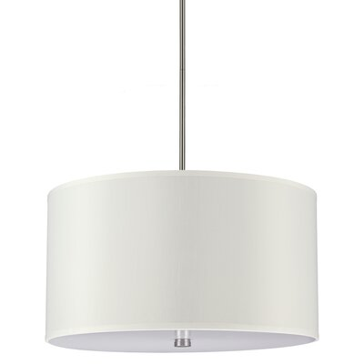 Akeem 4-Light Drum Pendant Bulb Type: 100W A19 Medium
