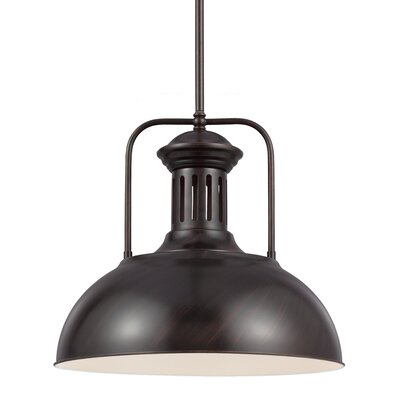 Beacon Street 1-Light Inverted Pendant