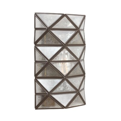 Cara 1-Light Wall Sconce with Mercury Glass