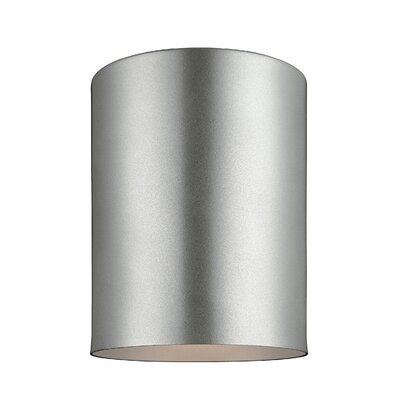 Kieu 1-Light Flush Mount Size: 6.63 H x 5.13 W x 5.13 D