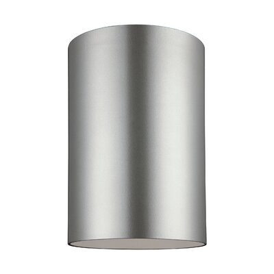 Kieu 1-Light Flush Mount Size: 9 H x 6 W x 6 D