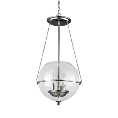 Sanford Pendant Finish: Chrome
