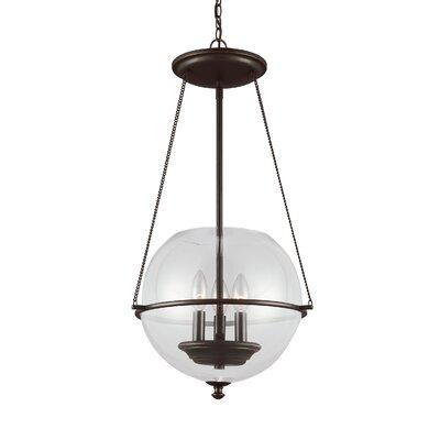 Havenwood 3-Light Globe Pendant Finish: Autumn Bronze