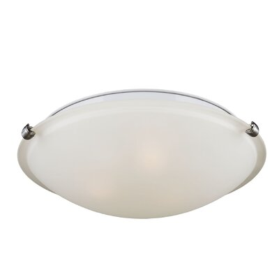 Renea 3-Light Ceiling Flush Mount