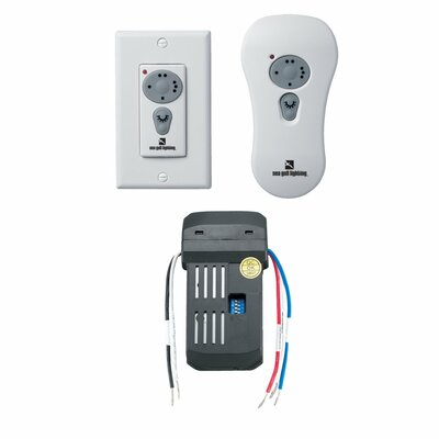 Combo Remote Control Kit with Reverse Downlight Control in White