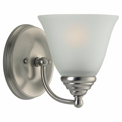 Steel Bathroom Sconce | Wayfair