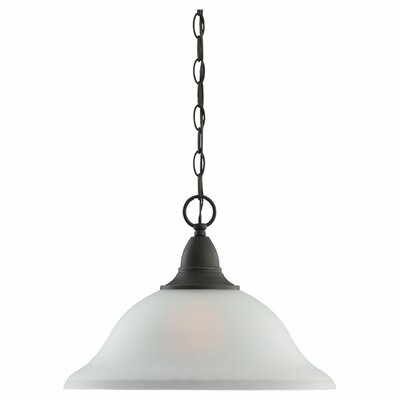 Albany 1-Light Inverted Pendant Finish: Heirloom Bronze